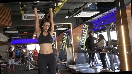 Heena Panchal Workout || Hanging Leg Raises