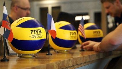 Equipe de France de Volley - J1 - Préparation Volleyball Nations League