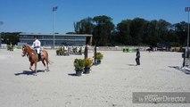 Sports  équestres (Saut d'obstacles) - Deuxième extrait du Horse Pilot Jump Festival à l'hippodrome de Wallonie