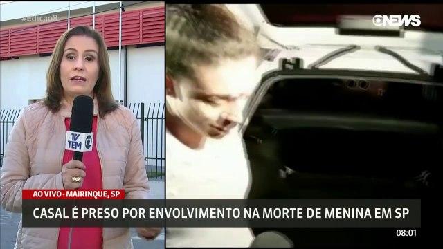 Descobertos o Casal Assassino da menina Vitória Gabrielly em SP