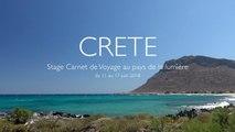 Stage de Dessin Carnet de Voyage en Crète 2018