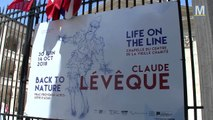 "Claude Lévêque propose son "" Life on the line"" à la Vieille Charité"