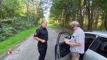 6er BMW in der Kontrolle: Er fährt den Polizisten fast an!   Achtung Kontrolle   kabel eins