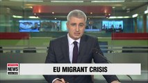 European leaders press ahead with tough new migrant plan