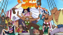 Ace aparece no navio de Buggy - One Piece 145
