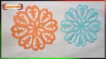 DIY: Paper Cut Design !!! How to make beautiful paper cut design