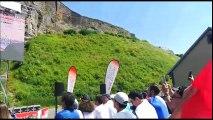 Les supporters belfortains entonnent la Marseillaise avant la rencontre France-Mexique