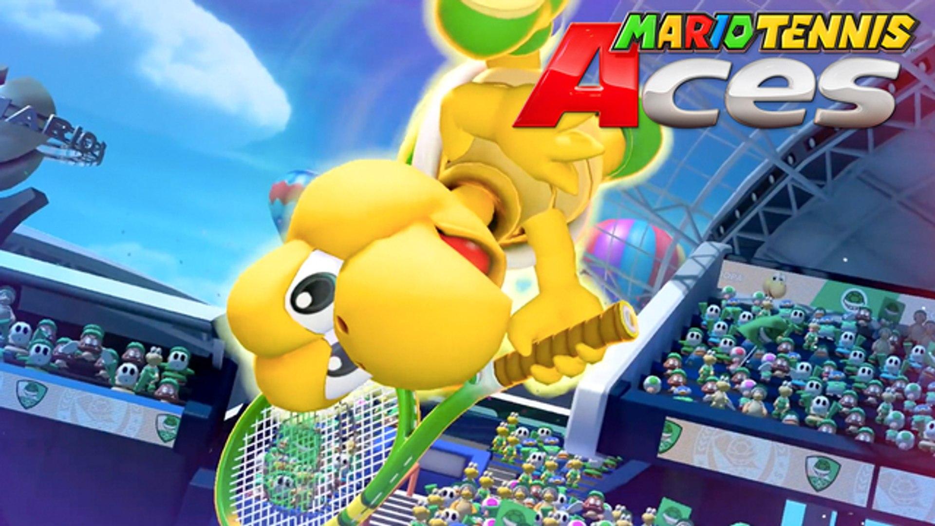 Mario Tennis Aces Official Nintendo Switch Trailer