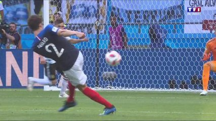 L'extraordinaire but de Pavard face à l'Argentine