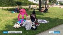 Météo : les Parisiens en quête de fraîcheur