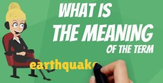 What is EARTHQUAKE INSURANCE? What does EARTHQUAKE INSURANCE mean? EARTHQUAKE INSURANCE meaning