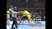 Masa Chono/Hiroyoshi Tenzan vs Hiroshi Hase/Kensuke Sasaki (New Japan March 25th, 1995)