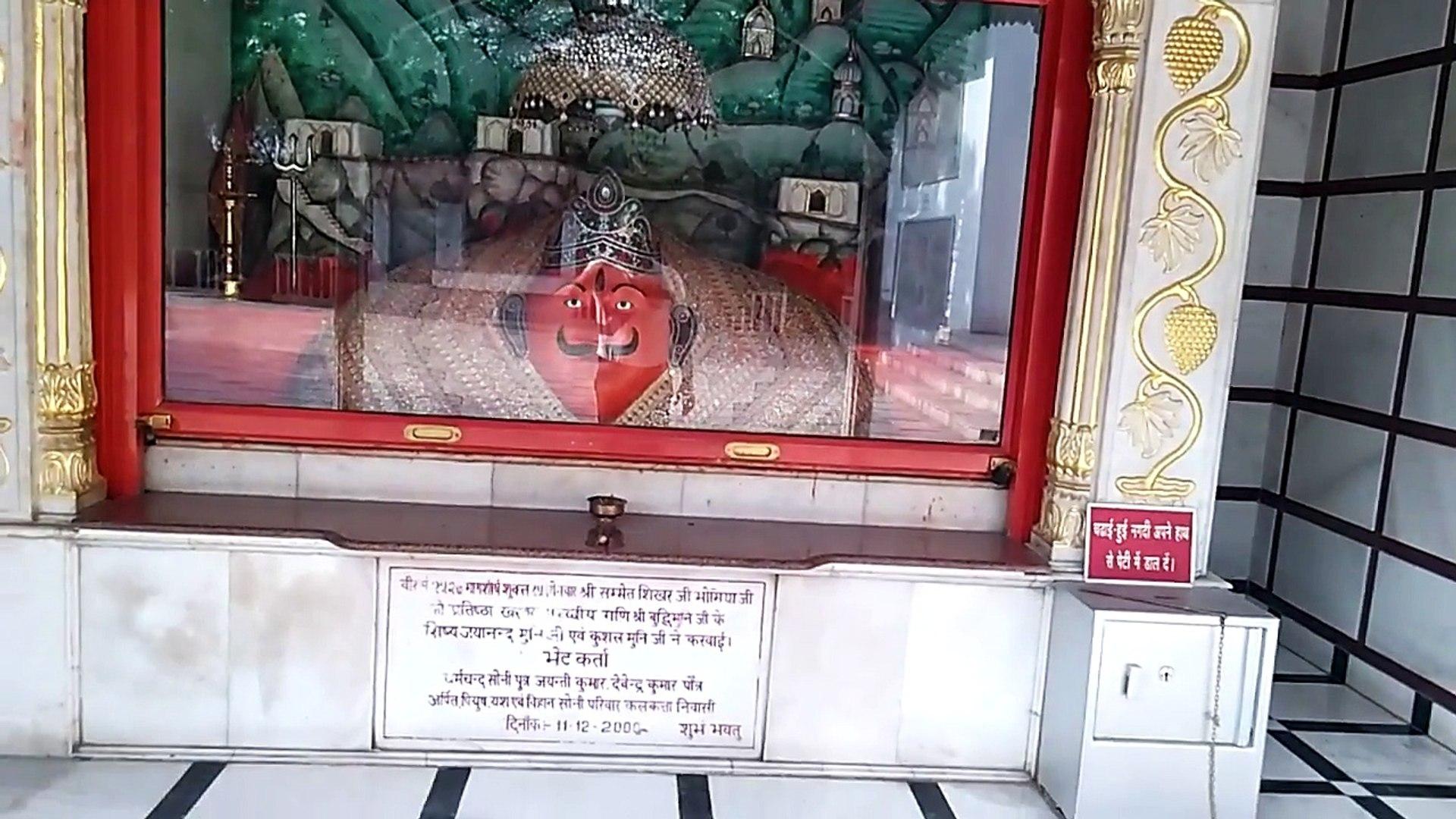 Dada badi Jain temple Mehrauli