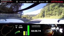 369 km/h on the Nordschleife | Lap Record Porsche 919 Hybrid...