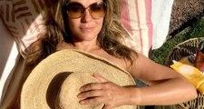 Ünlü Model Elizabeth Hurley, Üstsüz Fotoğrafıyla Sosyal Medyayı Salladı