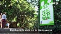 A Strasbourg, le tabac banni des parcs et jardins publics