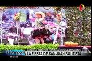 Cajamarca: cientos participan de la fiesta de San Juan Bautista