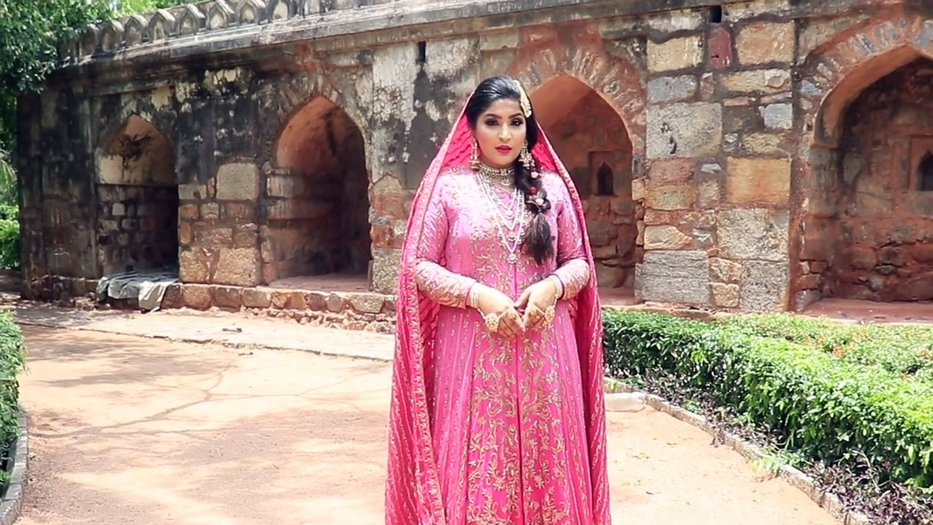 brides of india | the walima bride makeup tutorial | #shreyasaptah | shreya jain