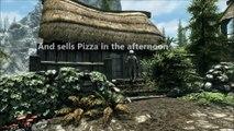 Skyrim Special Edition - Skyrim Pizza - Playstation 4 Trailer