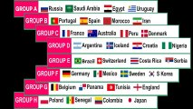 FIFA World Cup 2018 Match Schedule, Groups and Predictions FOR ALL FOOTBALL LOVERS