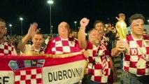 Celebran hinchas croatas pase a cuartos en Rusia-2018