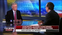 "8 National Security Adviser John Bolton on Fox News Sunday  ""We've seen how the North Koreans have behaved before. The president has been very clear he's not going to make the mistakes of prior administrations.""   On ""Fox News Sunday,"" National Security A"