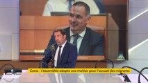 """L'Assemblée de #Corse adopte une motion pour l'accueil des migrants : """"Le droit doit s'appliquer partout, en France, même en Corse,"""" réagit Christophe Castaner : """"Ce n'est pas une compétence de la collectivité corse que de gérer cela"""""""