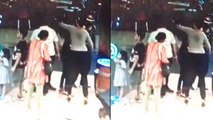 Vinod Kambli's wife Andrea Hewitt punches singer Ankit Tiwari's father | Oneindia News