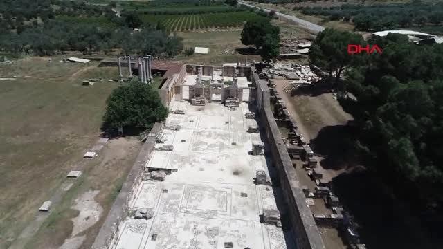 Manisa Sardes Antik Kenti'nde Binlerce Yıl Önce Termal Isıtma Kullanılmış