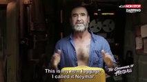 Neymar : Eric Cantona se moque et lui apprend à simuler correctement (Vidéo)