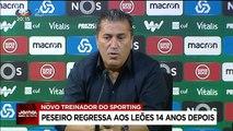 José Peseiro volta ao Sporting 14 depois