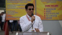 Mayor 'killed by sniper' during city hall ceremony in Philippines