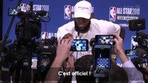NBA: LeBron James rejoint les Los Angeles Lakers