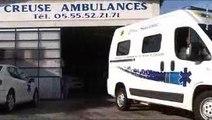 Creuse Ambulances à Guéret et Ste-Feyre Ambulances Taxis