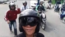 Bikers and Others saying TETEW together (Tetew Viral Videos Compilation)