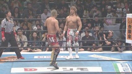 The Battle for Ace of NJPW: Okada vs Tanahashi Part 1