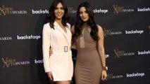 Camila Banus and Gabriela Banus 2018 Voice Arts Awards Red Carpet