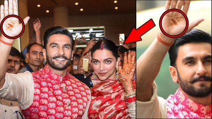 Deepika- Ranveer Marriage : Ranveer's Mehandi Design Goes Viral