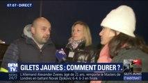 """Gilets jaunes: """"On veut être reçu à l'Élysée, il faut discuter"""" explique un organisateur d'un blocage à Roanne"""