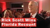 Rick Scott Wins Florida Senate Seat In Bitter Contest