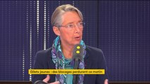 """#GiletsJaunes """"On a discuté avec toutes les organisations de transport routier, elles ne souhaitent pas qu'on fasse des amalgames (…) et elles ne souhaitent pas entrer dans ce mouvement"""" affirme Elisabeth Borne, ministre chargée des Transports"""