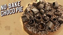 Children's Day Special Choco Pie Recipe - No-Bake Chocolate Pie - Dessert Recipe For Kids - Ruchi