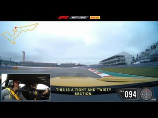 F1 Hot Lap with George Russell