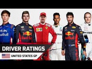 Driver Ratings - United States GP