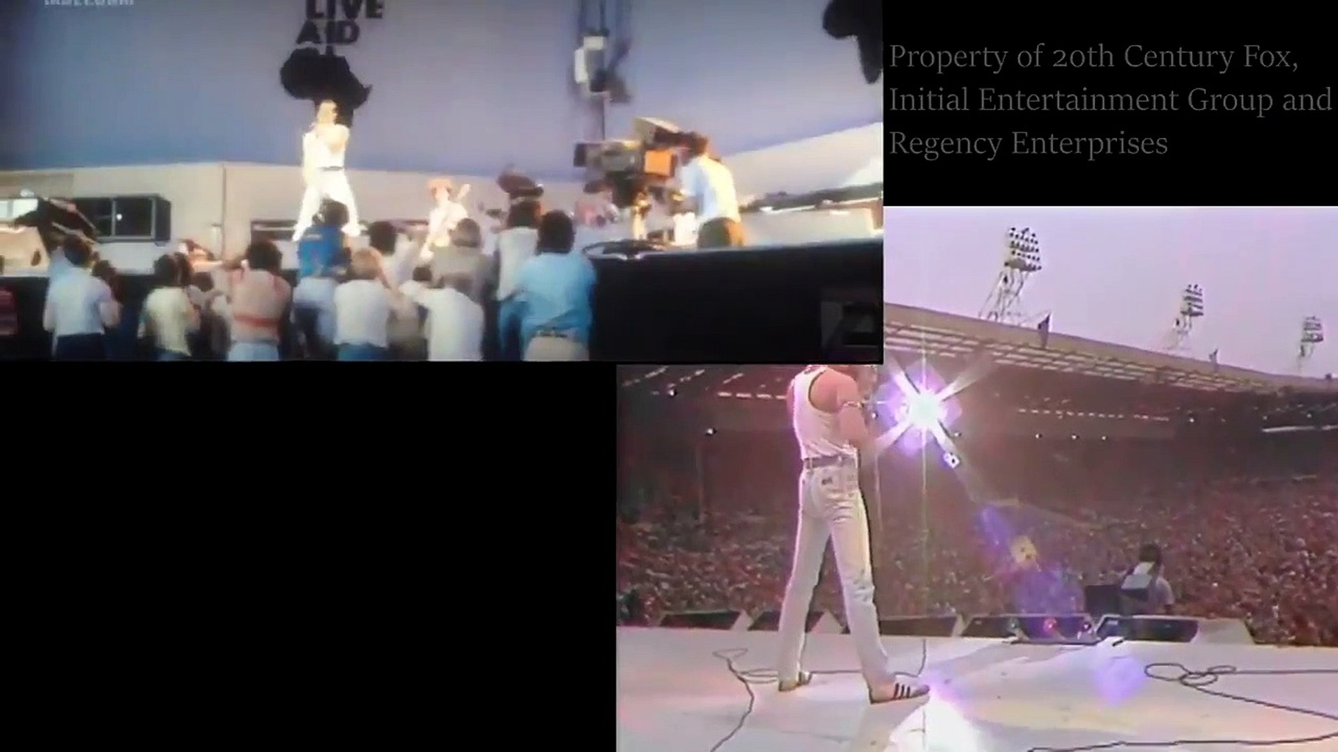 Bohemian Rhapsody : Live Aid 1985 compared to the Live Aid scene in the movie
