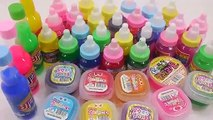 Soft Jelly DIY Pudding Colors Gummy Learn Colors Slime Play Doh Surprise Eggs Toys