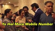 UNCUT - Premiere Of 'Devdas' Jackie Shroff Sharing Mobile Number