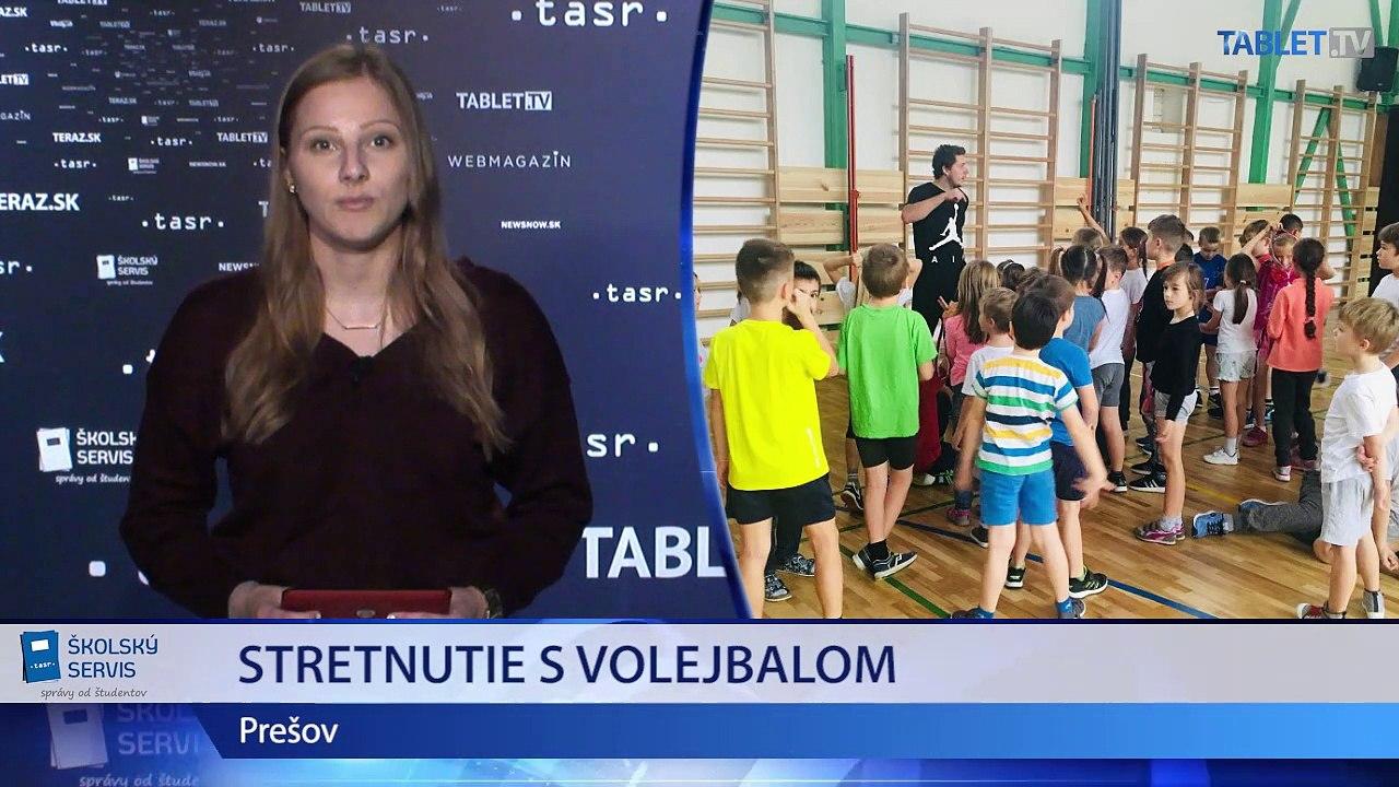 ŠKOLSKÉ SPRÁVY: Stretnutie s volejbalom a Dobšinského Košice