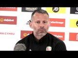 Wales v Denmark - Ryan Giggs Pre-Match Press Conference - UEFA Nations League