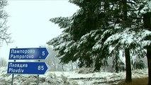Weißer Balkan: Schnee in Bulgarien und Albanien